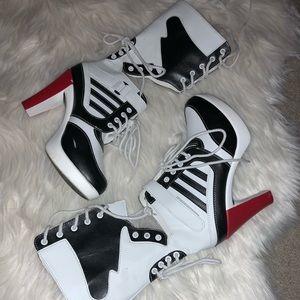 Harley Quinn Sneaker Heels